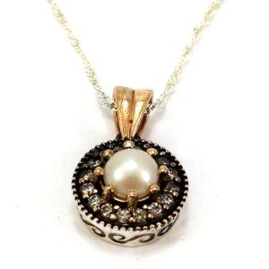 Osmański komplet z perełkami
