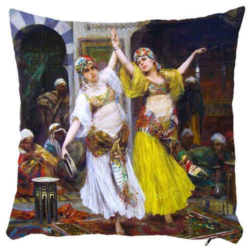 Poszewka dekoracyjna tancerki