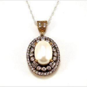 Osmańskie perły Sułtanki Kosem-naszyjnik