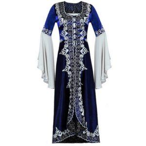 Suknia sułtanki - niebieska