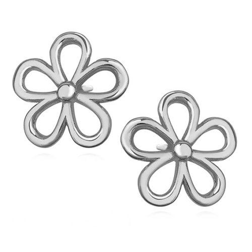 Srebrne kolczyki kwiatki pr.925