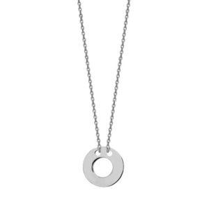 Srebrny naszyjnik z kółeczkiem pr. 925