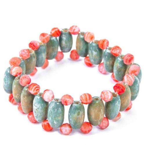 Turecka bransoletka z kamieniami w różnych kolorach