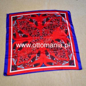 Osmański szal i apaszka w tureckim stylu