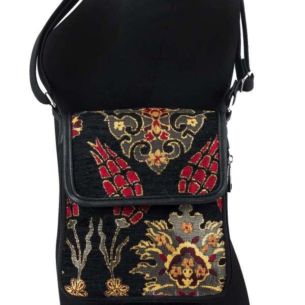 40975ce51380a Czarna torebka na ramię - osmańskie zdobienie - Ottomania - sklep z ...