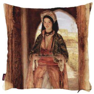 Portret osmańskiej kobiety - poszewka na poduszkę