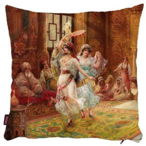 Tancerki osmańskie - poszewka na poduszkę