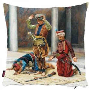 Osmański hołd dla sułtana - poszewka na poduszkę