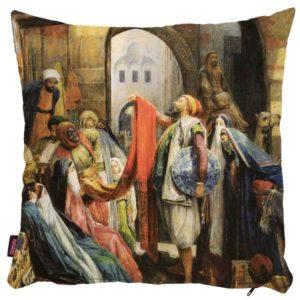 Osmański targ - poszewka na poduszkę