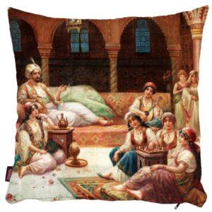 Codzienne życie w haremie - poszewka na poduszkę