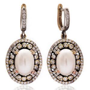 Osmańskie perły Sułtanki Kosem - kolczyki