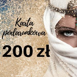 Karta podarunkowa 200- voucher