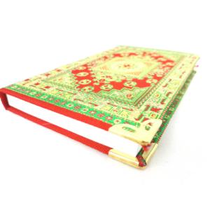 Osmański notes - mały, czerwono-zielony