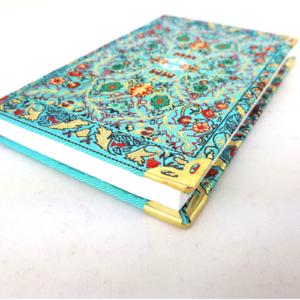 Osmański notes - mały, niebieski