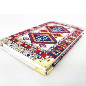 Osmański notes- mały, z geometrycznym wzorem