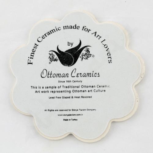 Ozdobne ceramiczne podstawki pod gorące naczynia