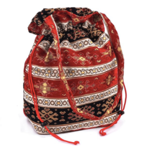 Orientalna torebka; orientalny worek