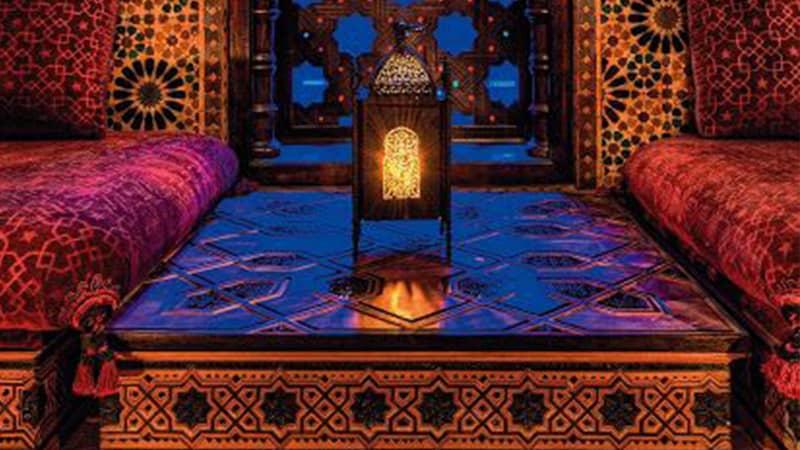 Sypialnie w stylu orientalnym