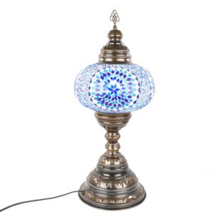 Lampa dekoracyjna z Turcji stojąca duża