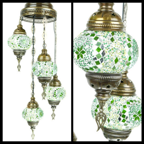 Turecka lampa wisząca
