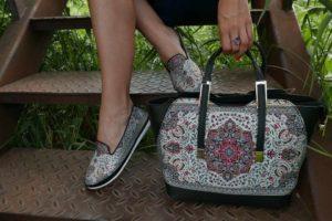 Orientalna torebka jako dodatek do stylizacji