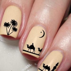 Jesienny orientalny manicure