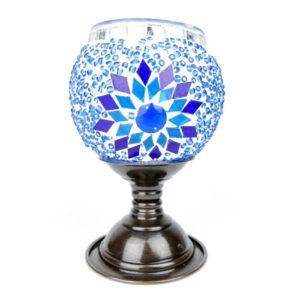 Lampion mozaikowy na stópce