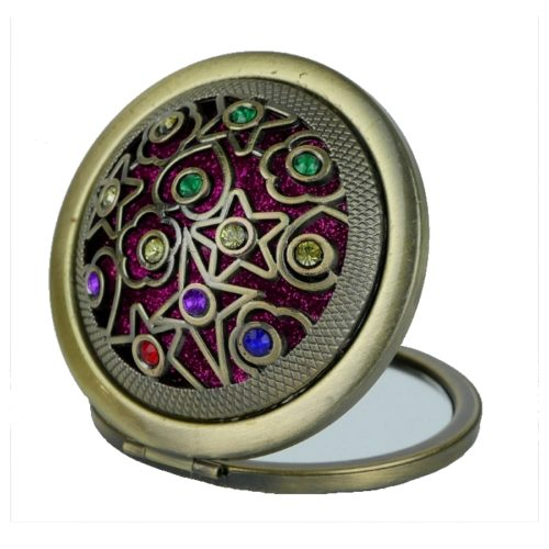 Osmańskie zdobione kolorowe lusterko