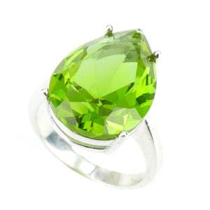 Srebrny pierścień z Zultanite