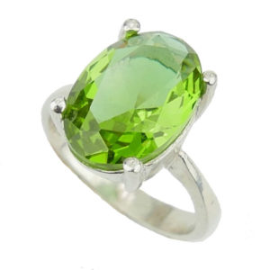Owalny pierścień z zultanitem