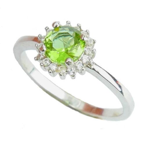 Srebrny pierścień z zultanitem -rozm. 19