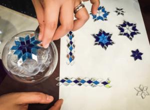 Jak się robi lampy mozaikowe