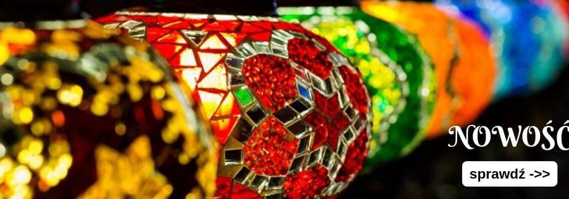 lampy mozaikowe Z TURCJI