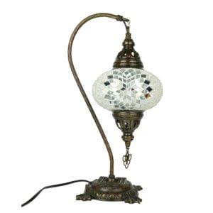 Stojąca lampa mozaikowa