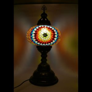 Duża lampa mozaikowa