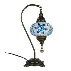 Lampa mozaikowa z Turcji