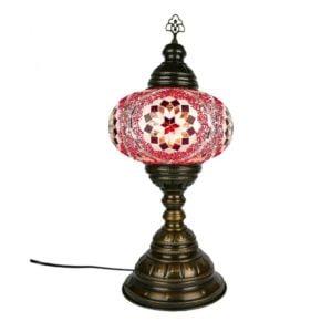 Lampa turecka mozaikowa