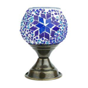 Lampion mozaikowy na nóżce