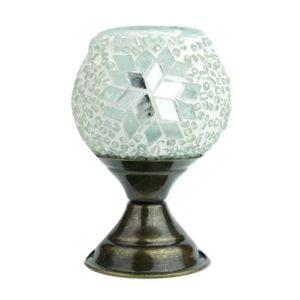 Mozaikowy lampion na podstawce