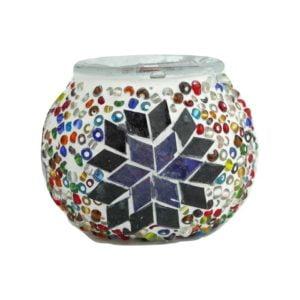 Turecki lampion mozaikowy