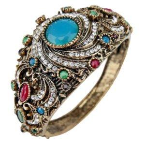 Orientalna bransoletka z kamieniami