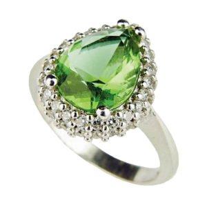 Sułtanit - pierścień łezka