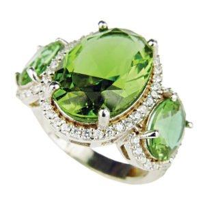 Sułtanit - pierścień z Turcji
