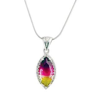 Biżuteria z ametrynem - naszyjnik