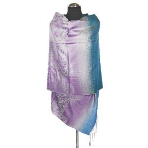 Kolorowy orientalny szal