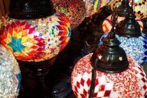 Tureckie lampy mozaikowe Warszawa