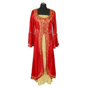 Suknia Sułtanki Hurrem w kolorze czerwonym